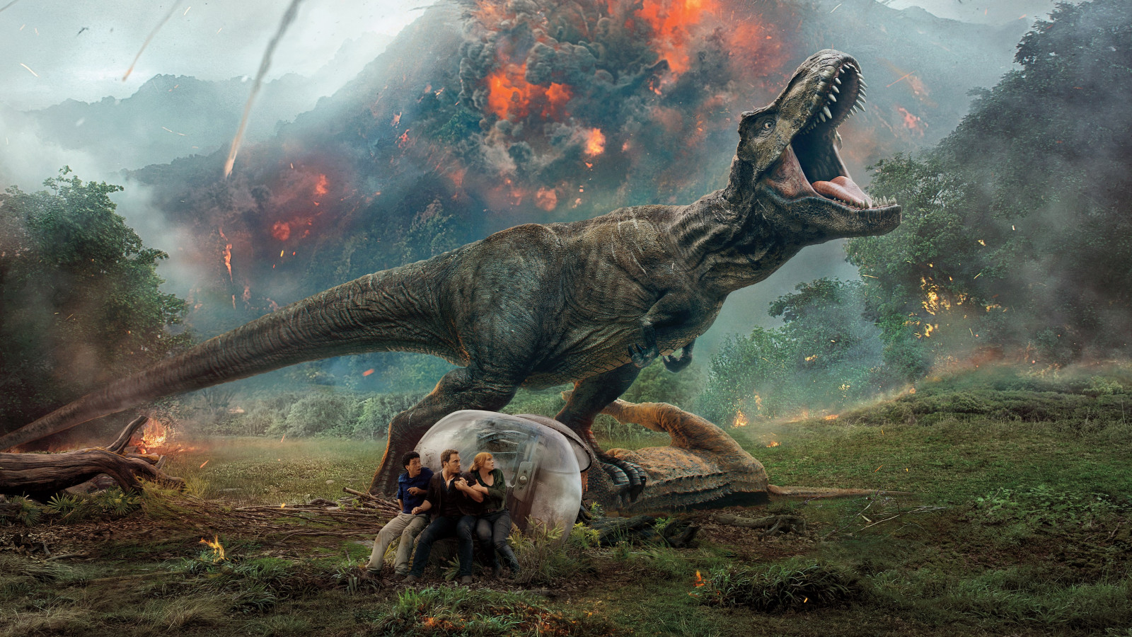Jurassic World: Fallen Kingdom | 1600x900 wallpaper