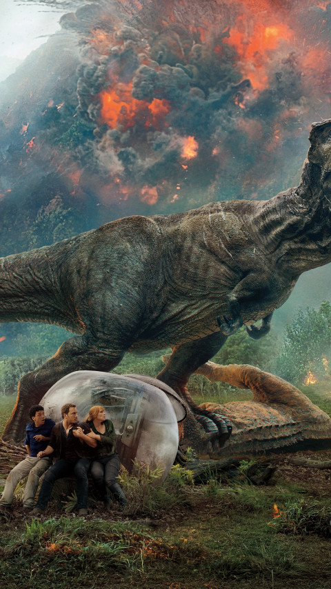 Jurassic World: Fallen Kingdom wallpaper 480x854