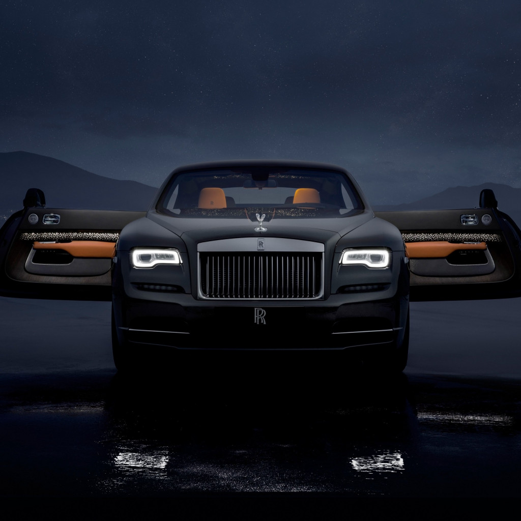 Rolls Royce Wraith Luminary Collection wallpaper 1024x1024