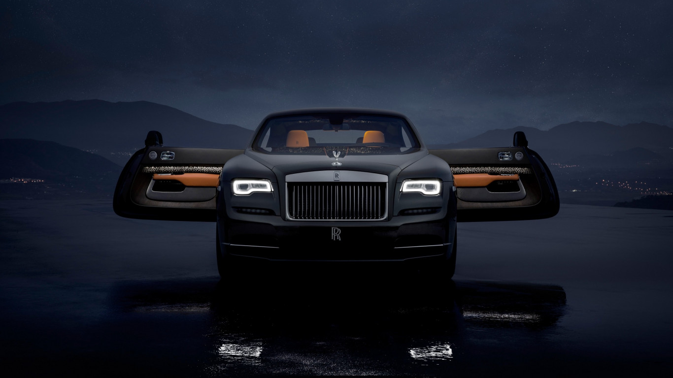 Rolls Royce Wraith Luminary Collection wallpaper 1366x768
