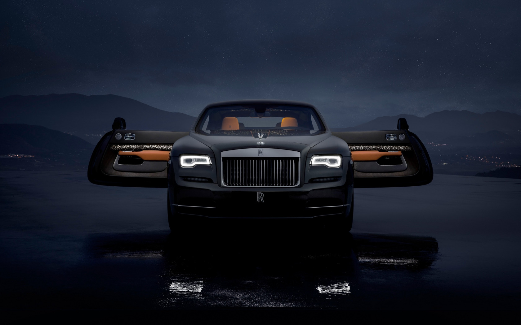 Rolls Royce Wraith Luminary Collection wallpaper 1680x1050