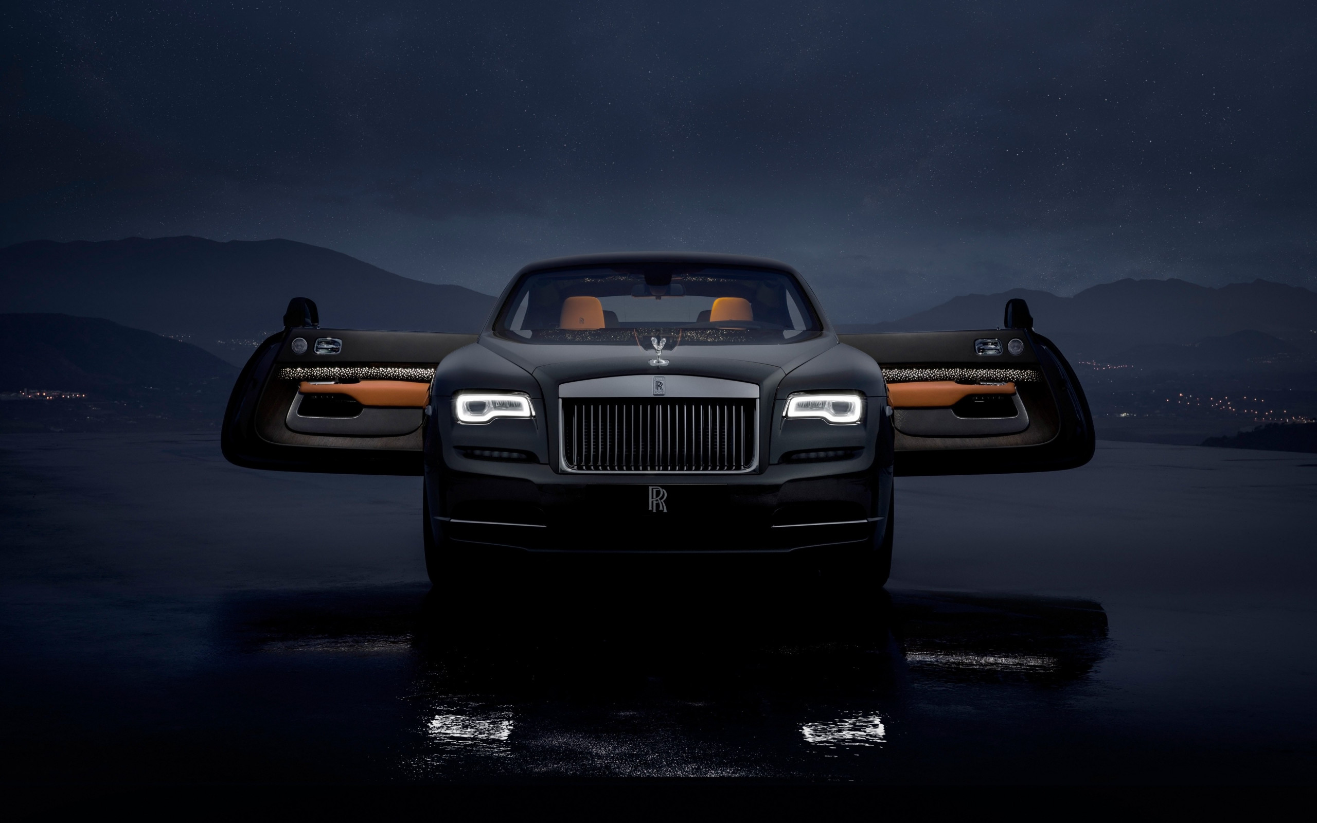 Rolls Royce Wraith Luminary Collection wallpaper 2560x1600