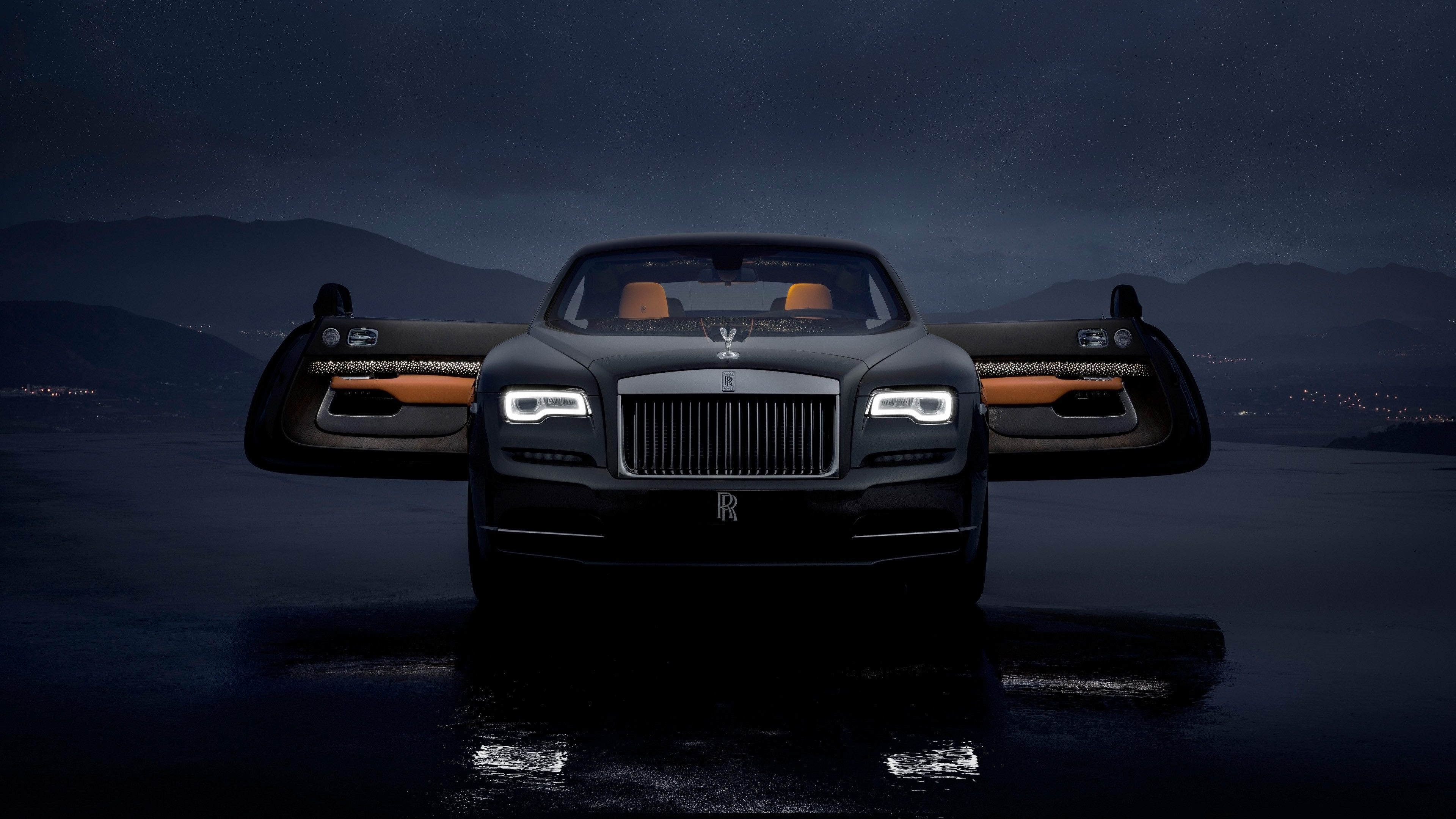 Rolls Royce Wraith Luminary Collection wallpaper 3840x2160