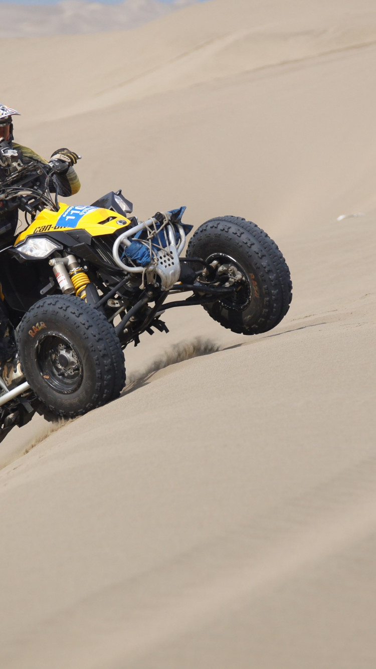 Racing with ATV | 750x1334 wallpaper