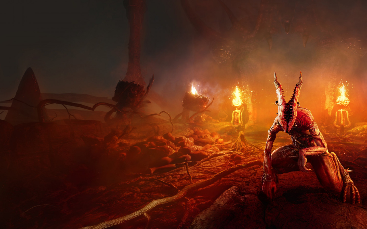 Agony, the video game wallpaper 1440x900