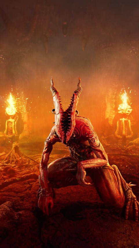 Agony, the video game wallpaper 480x854