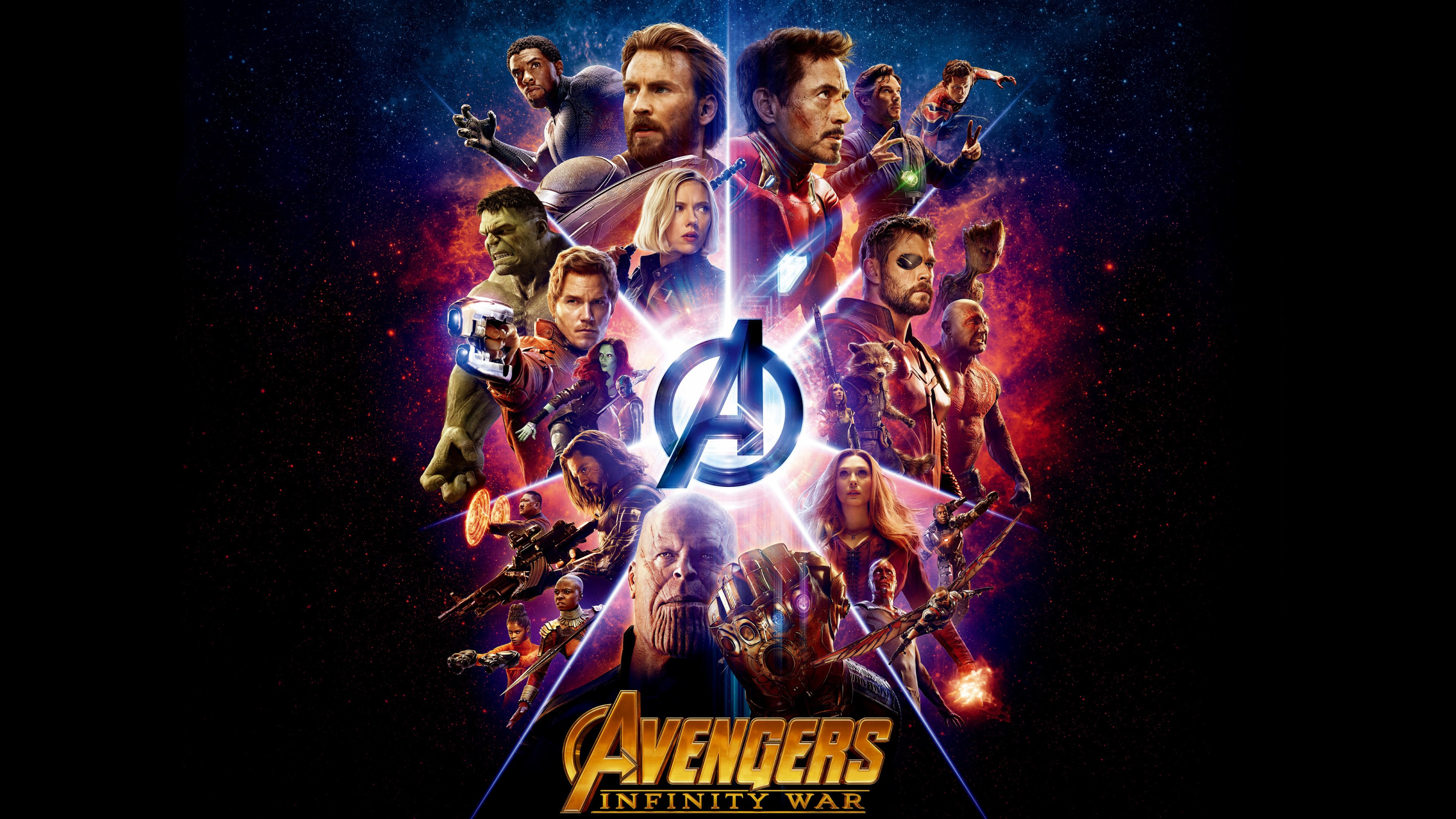 All the heroes from Avengers: Infinity War wallpaper 2880x1620
