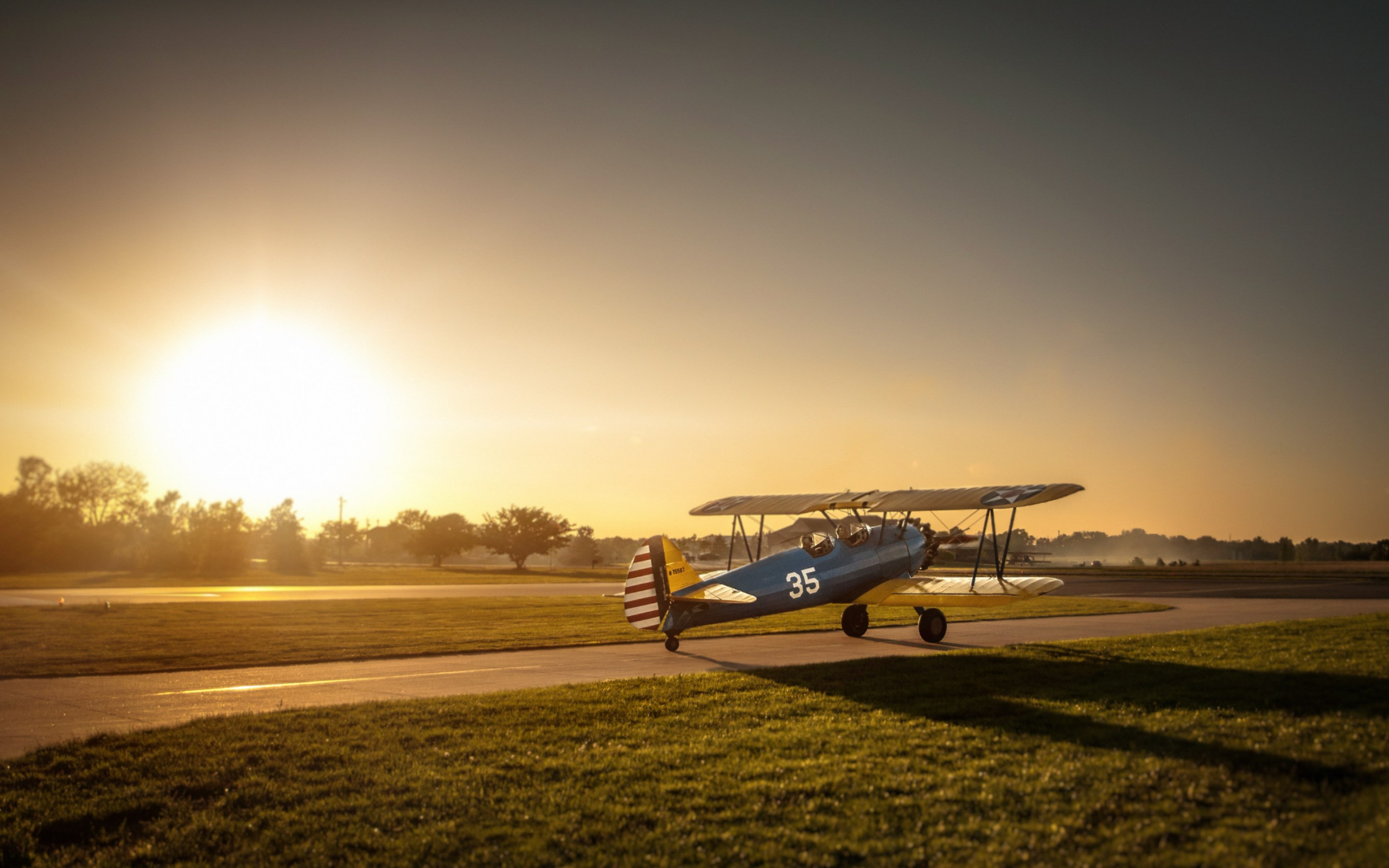 Boeing Stearman Airplane wallpaper 2560x1600