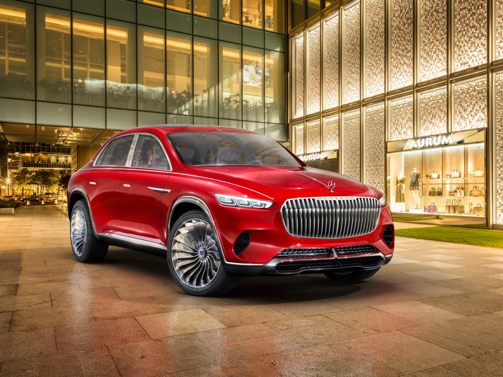 The Vision Mercedes Maybach Ultimate Luxury | 1024x768 wallpaper
