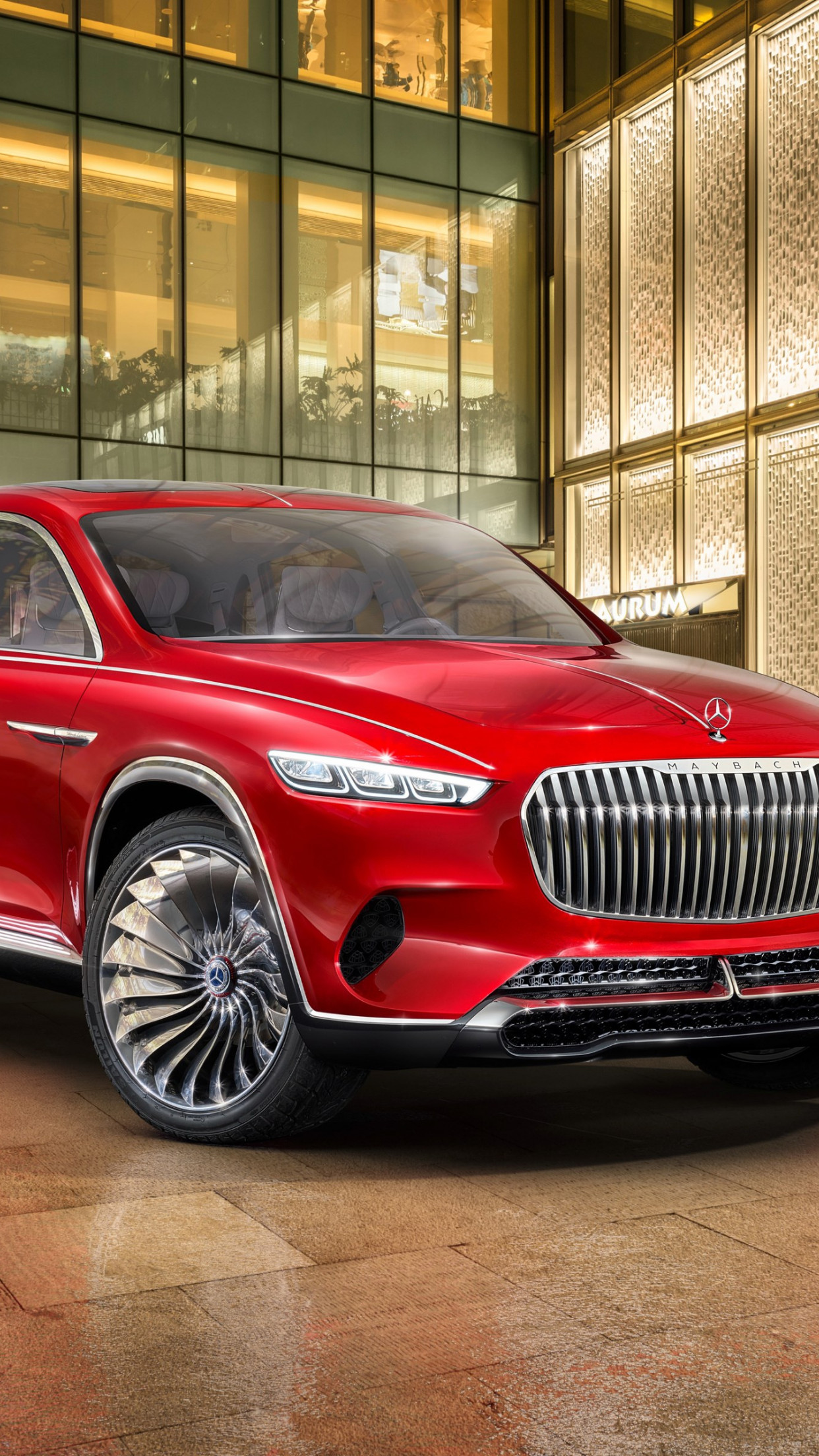 The Vision Mercedes Maybach Ultimate Luxury | 1242x2208 wallpaper