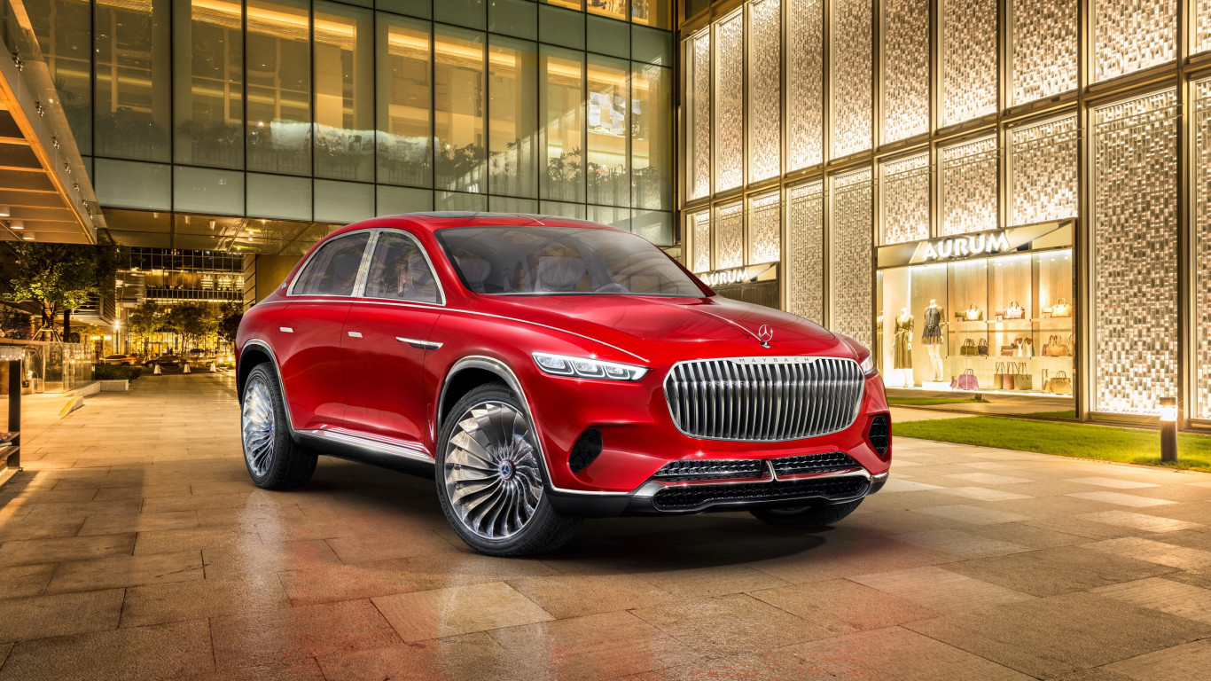 The Vision Mercedes Maybach Ultimate Luxury | 1366x768 wallpaper