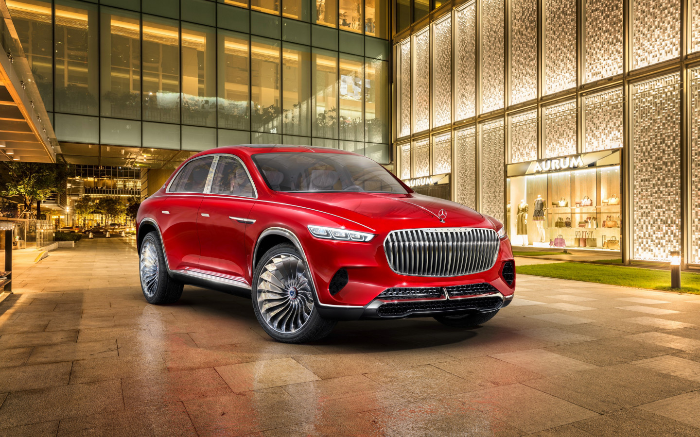 The Vision Mercedes Maybach Ultimate Luxury | 1440x900 wallpaper