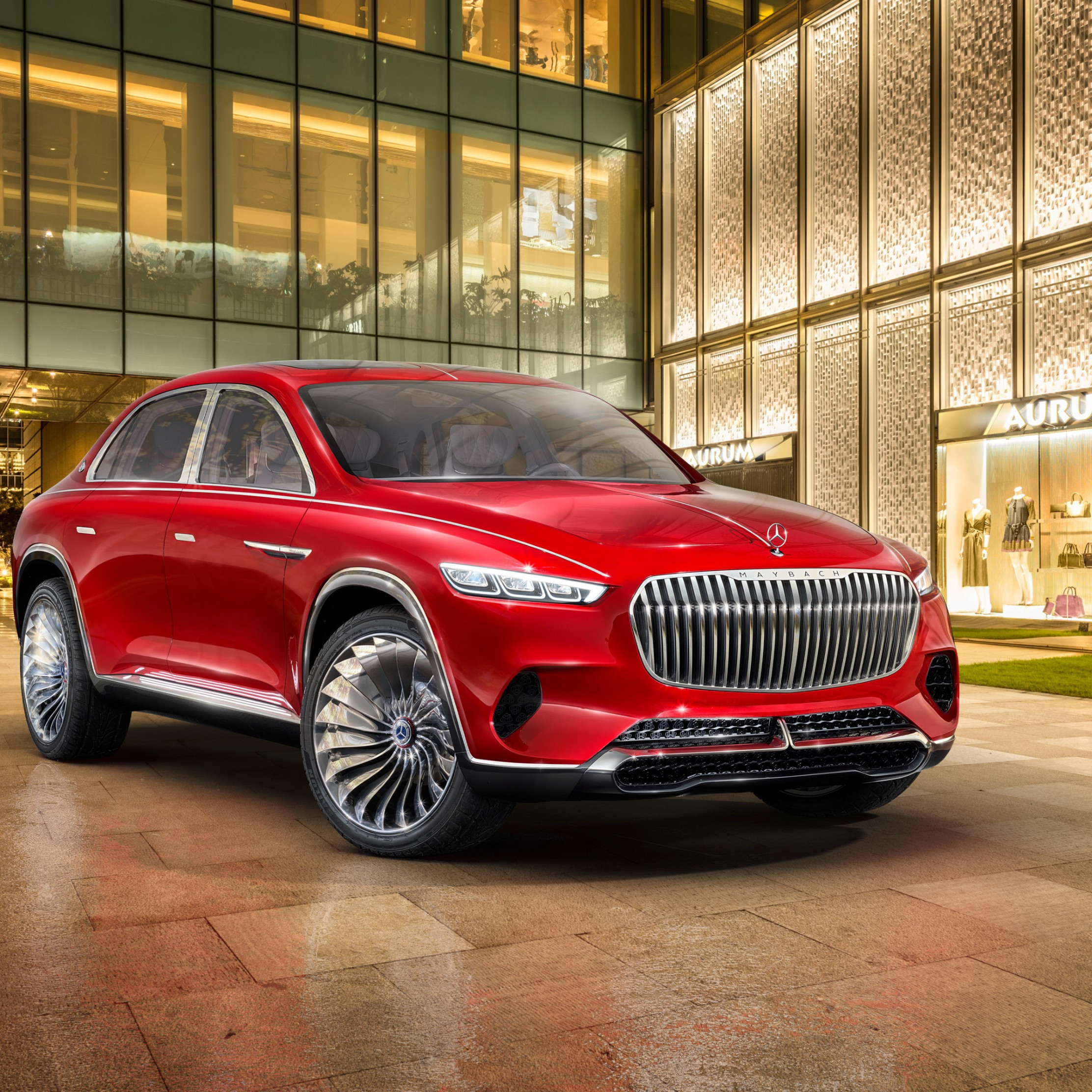 Download Wallpaper The Vision Mercedes Maybach Ultimate