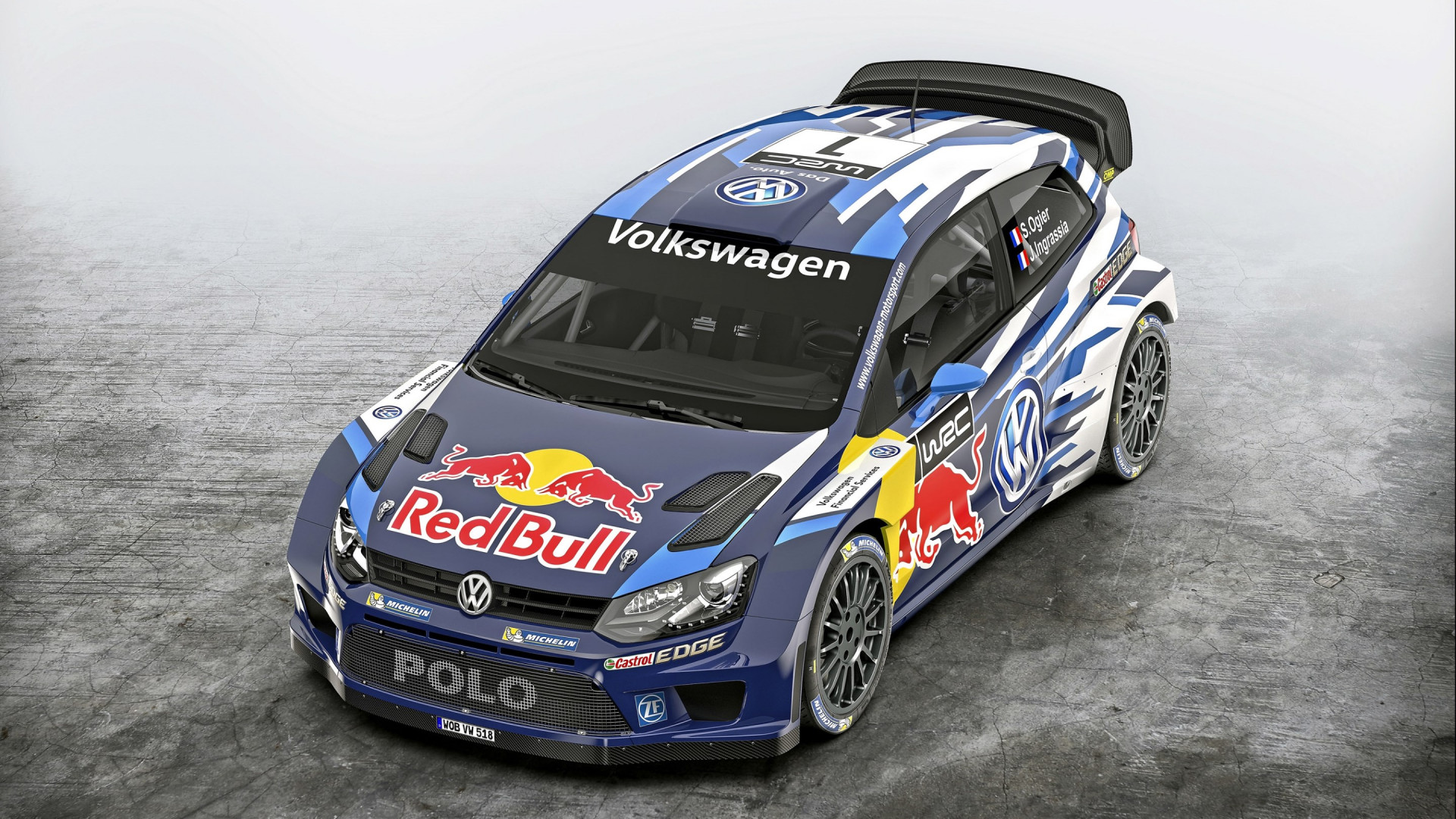 Volkswagen Polo R WRC wallpaper 1920x1080