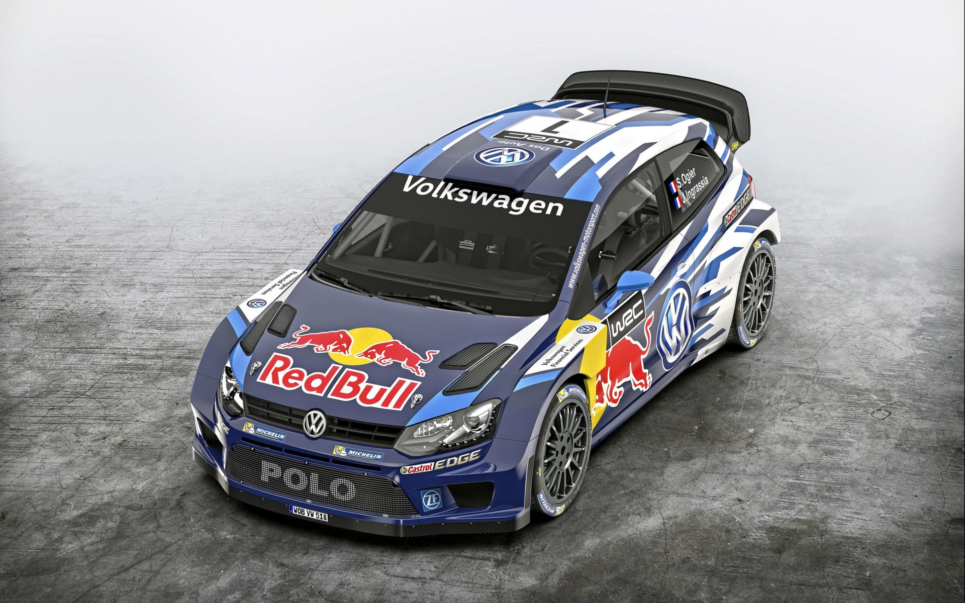 Volkswagen Polo R WRC wallpaper 1920x1200