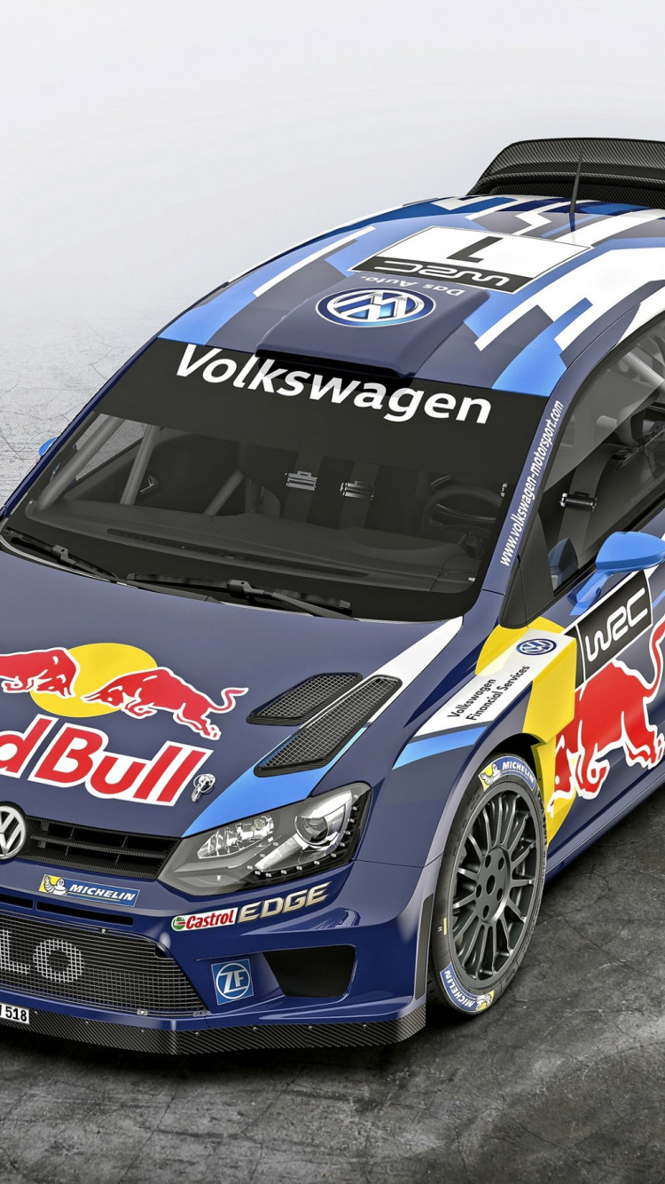 Volkswagen Polo R WRC wallpaper 750x1334