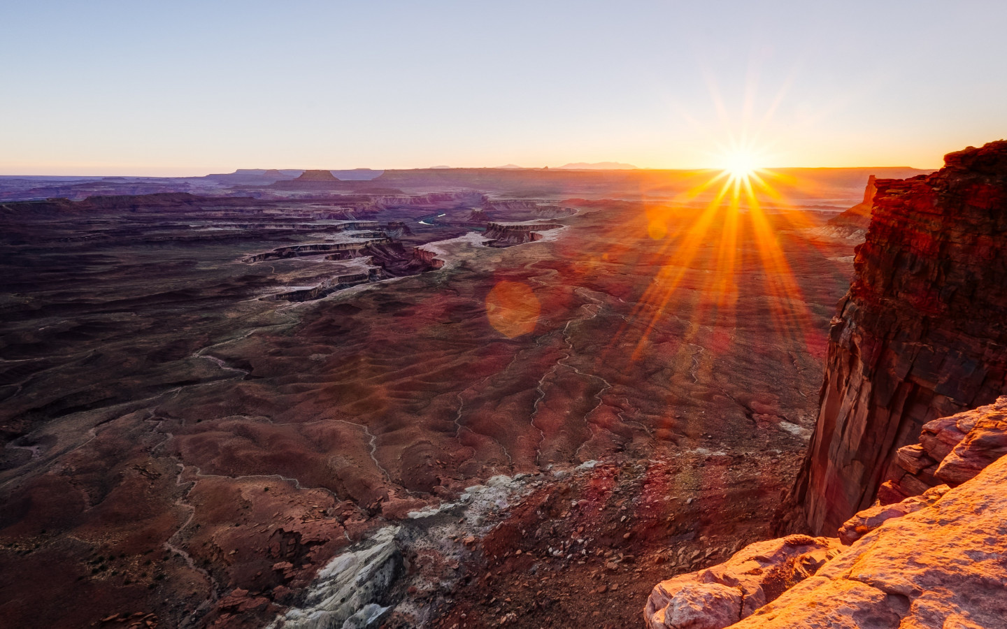 Canyonlands National Park view wallpaper 1440x900