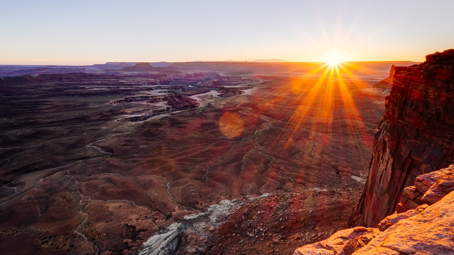 Canyonlands National Park view wallpaper 1920x1080