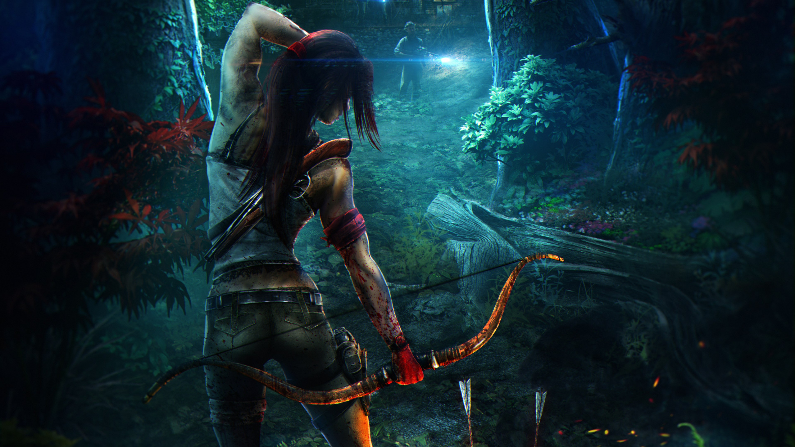 Fan art for Tomb Raider Reborn wallpaper 2560x1440
