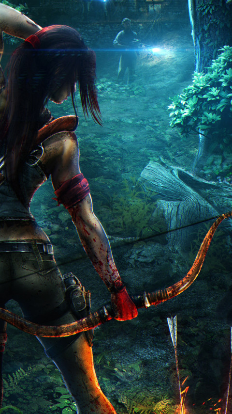 Fan art for Tomb Raider Reborn wallpaper 480x854