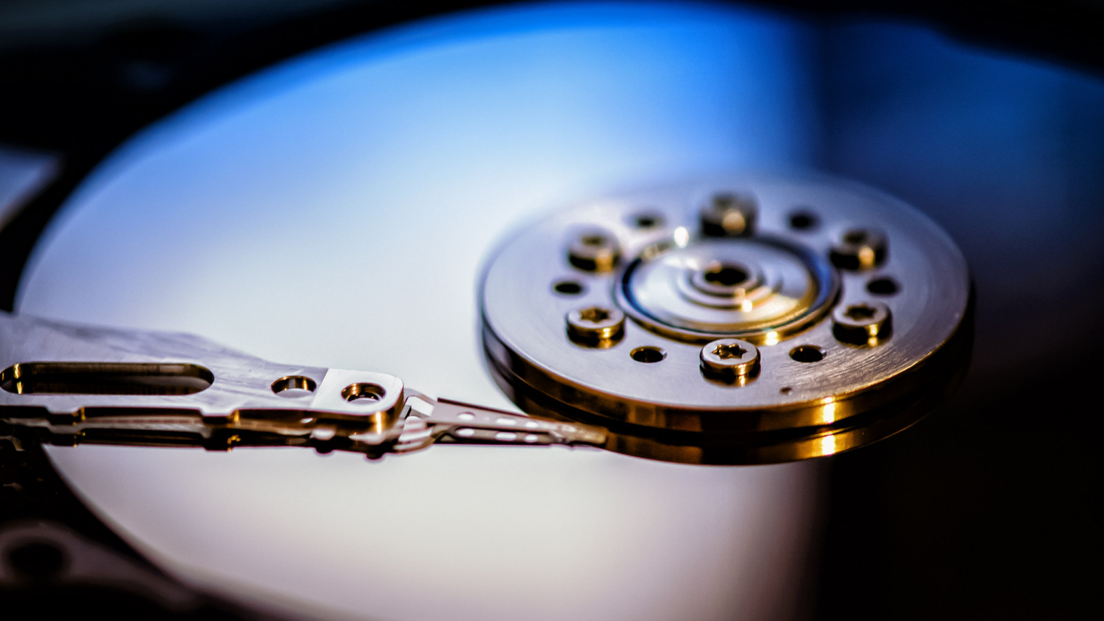 Hard disk drive wallpaper 1600x900