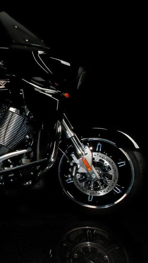 Victory motorcycle wallpaper 480x854