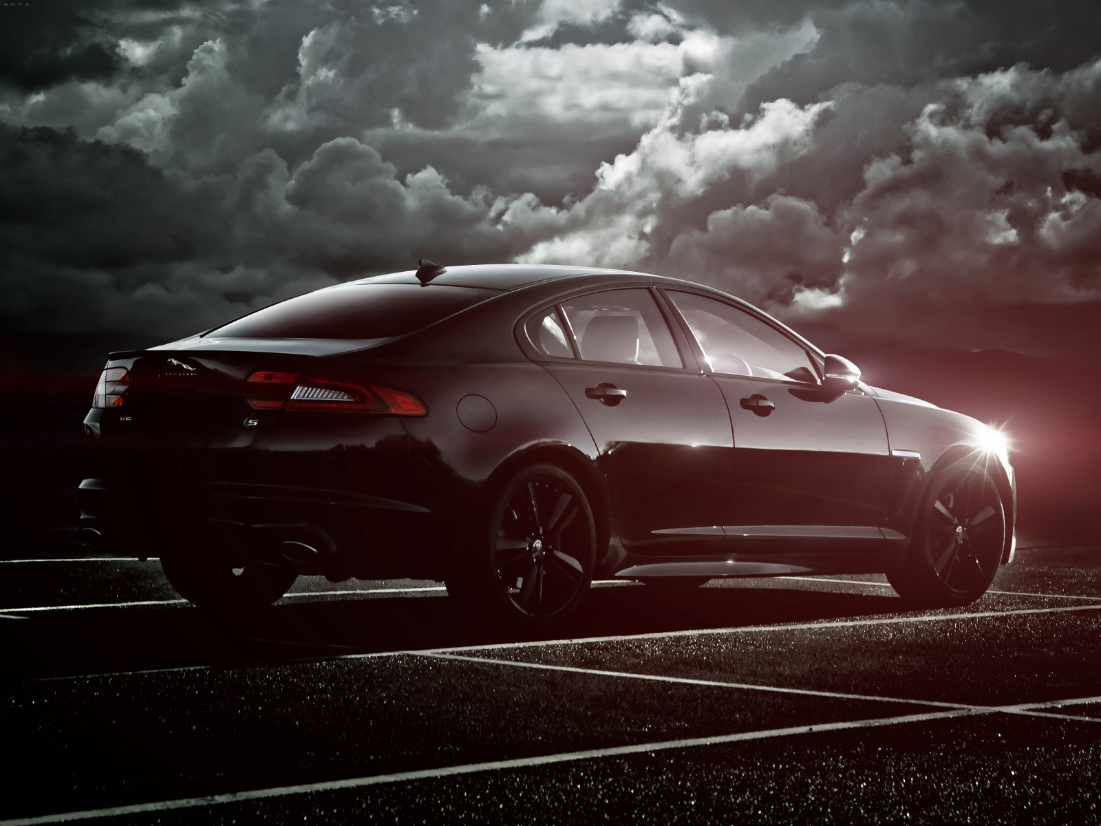 Jaguar XF S wallpaper 1600x1200