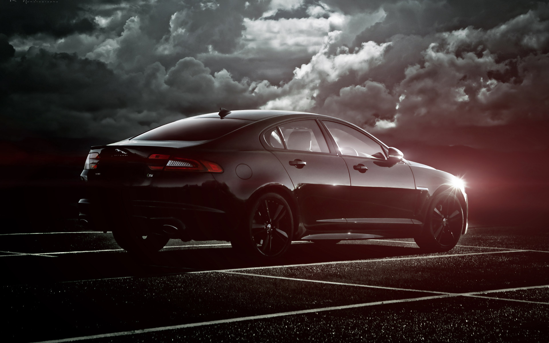 Jaguar XF S wallpaper 1920x1200
