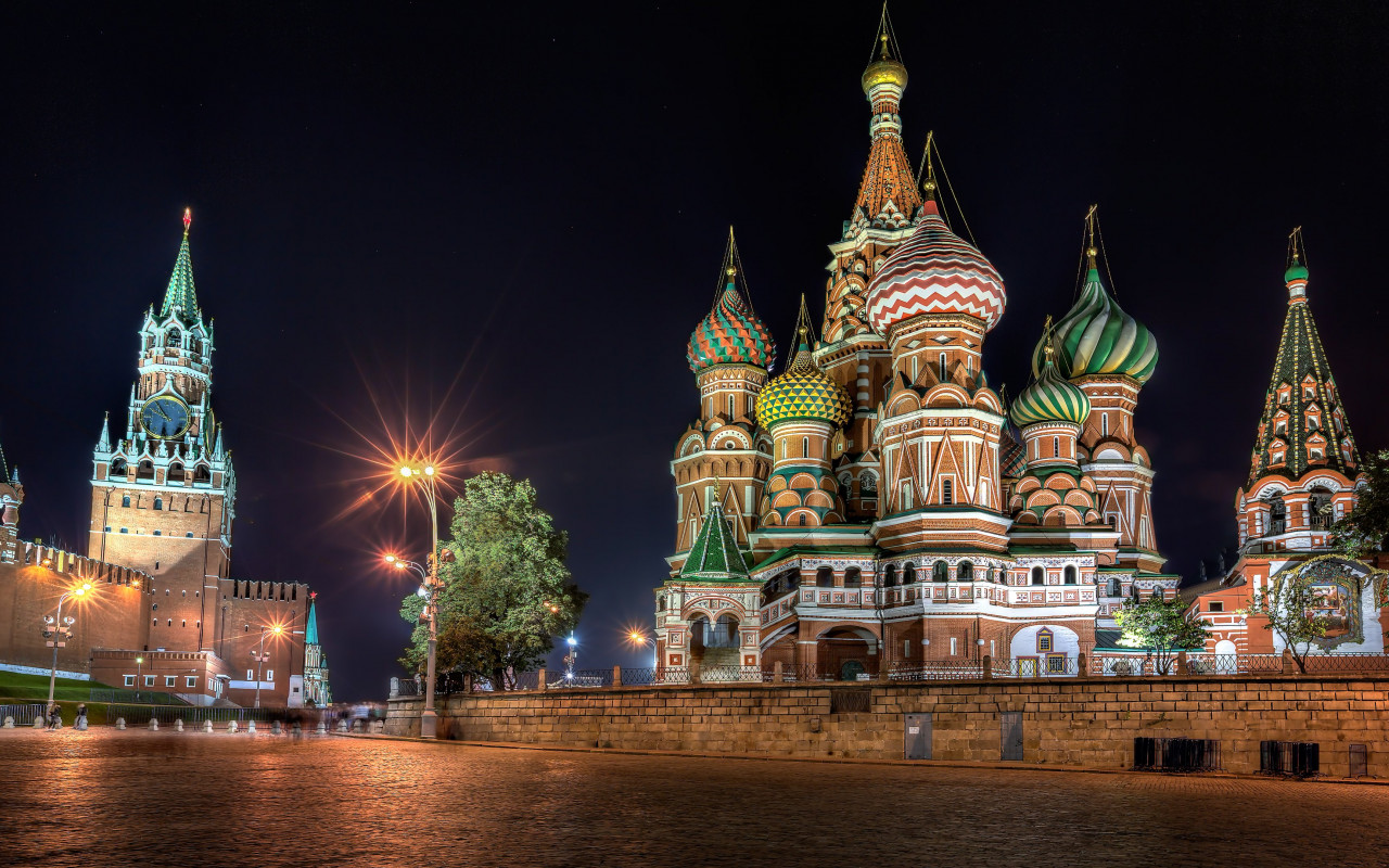 Red Square, Moscow wallpaper 1280x800