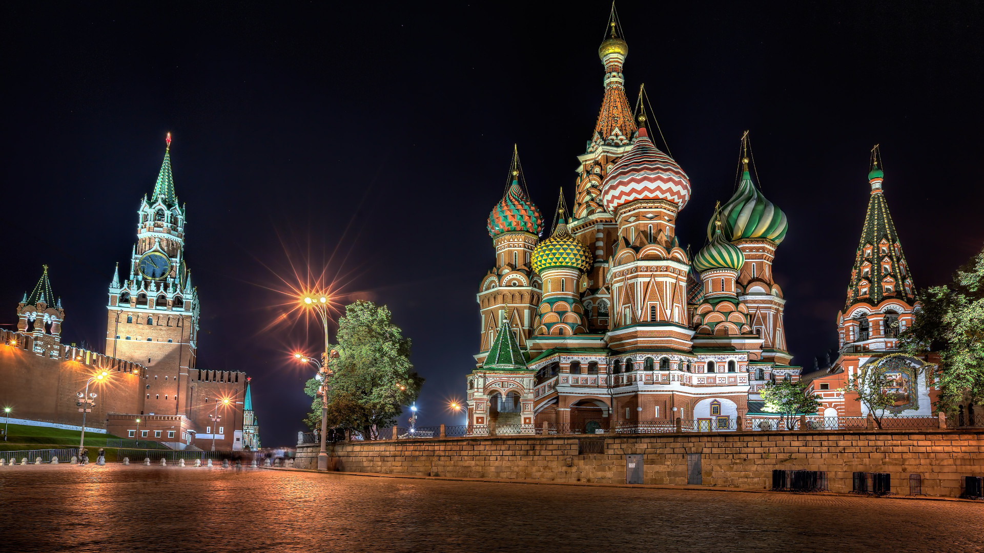 Red Square, Moscow wallpaper 1920x1080