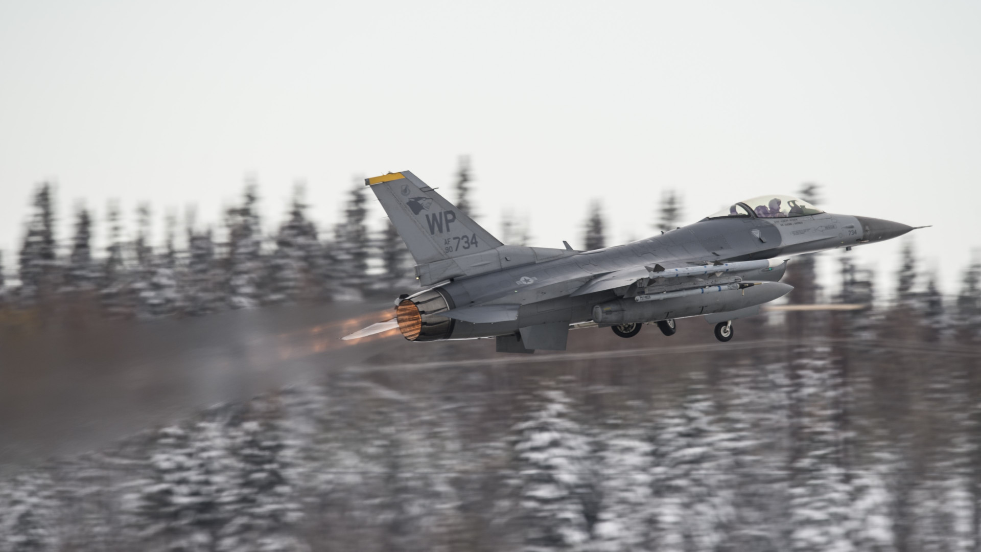 F16 Fighting Falcon wallpaper 1920x1080
