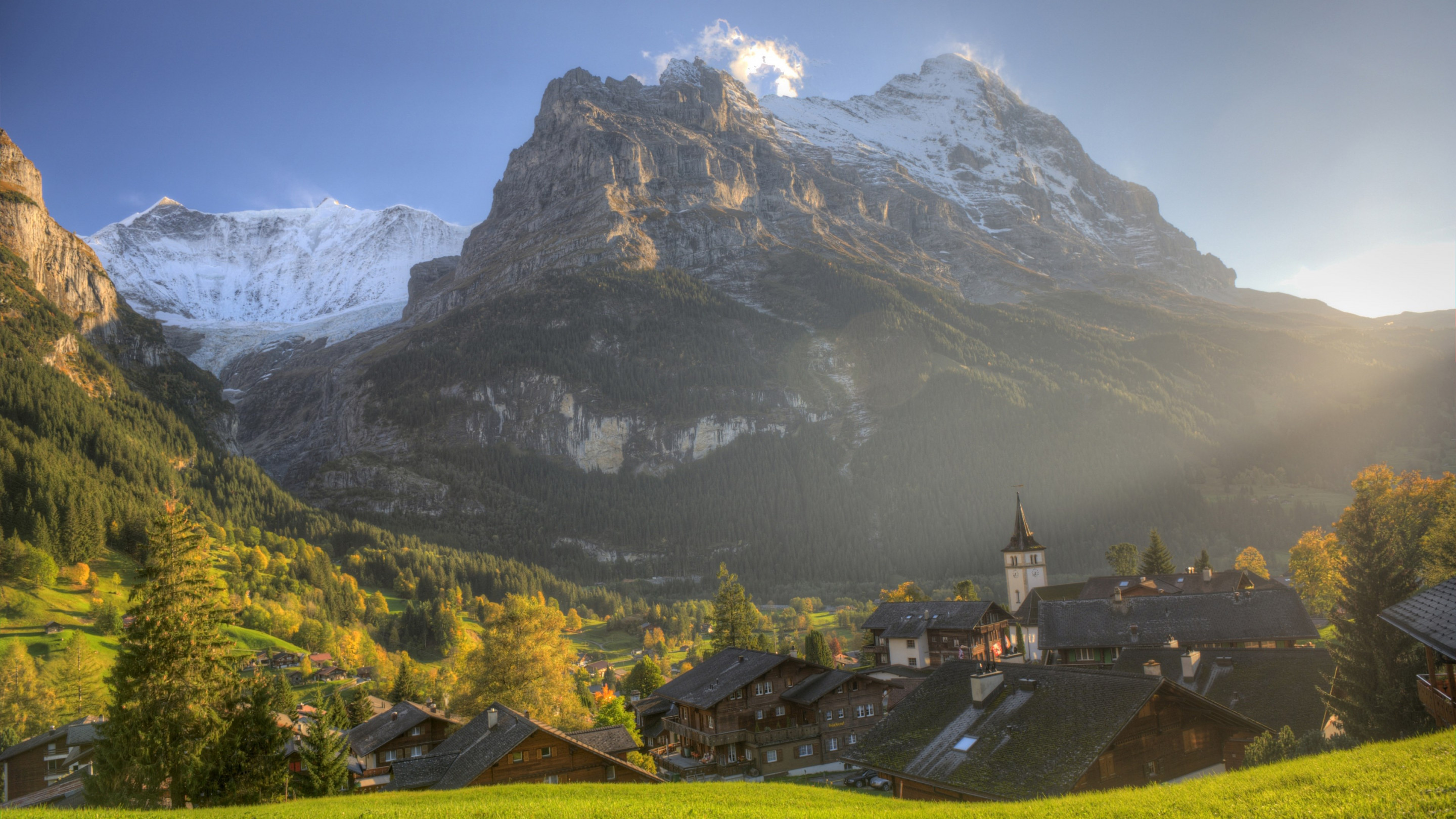 Best landscape from Bernese Alps | 2880x1620 wallpaper