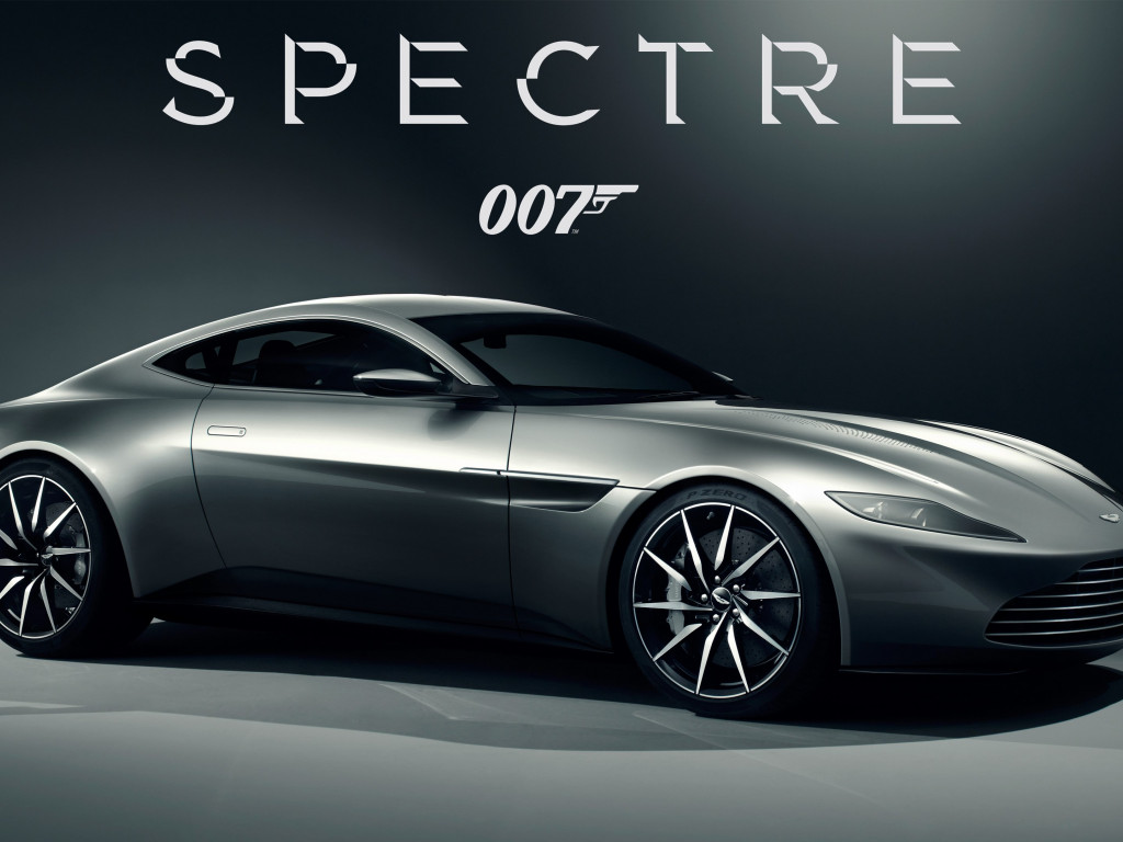 Aston Martin DB10 007 Spectre car wallpaper 1024x768