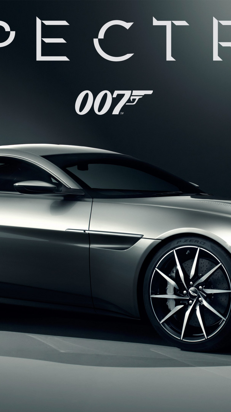 Aston Martin DB10 007 Spectre car wallpaper 750x1334