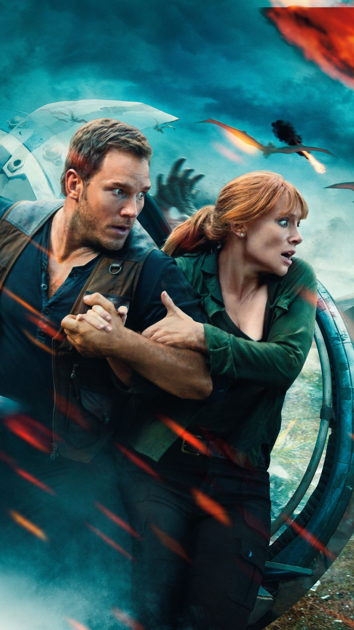 Download Wallpaper Jurassic World Fallen Kingdom 2018 1242x2208