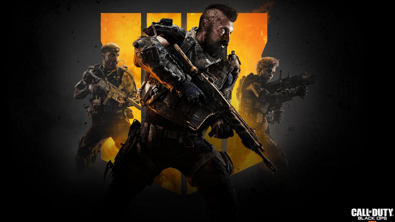 Call of Duty Black Ops 4 | 1366x768 wallpaper
