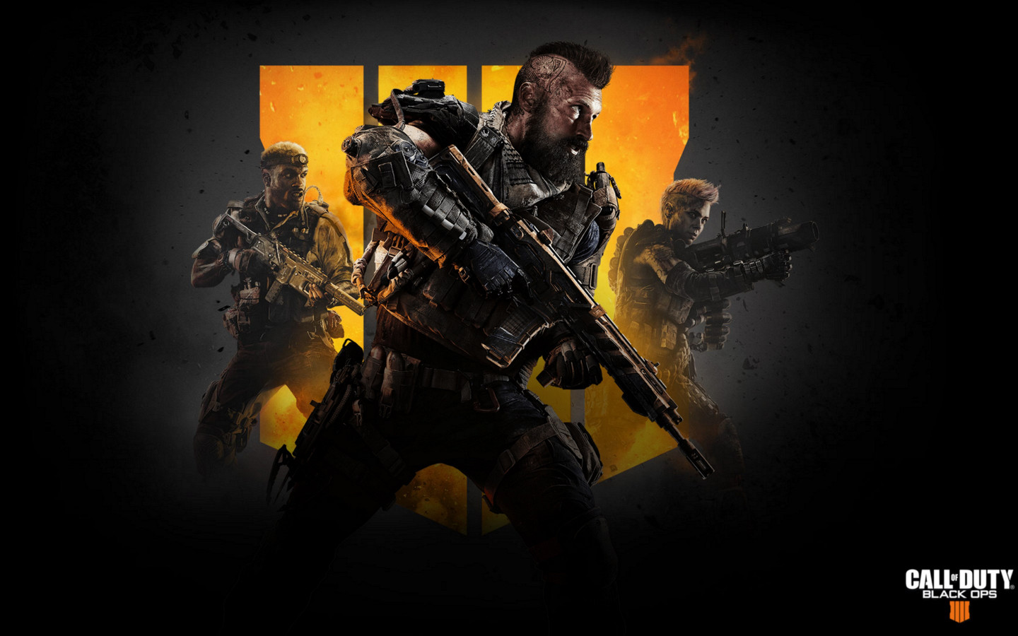 Call of Duty Black Ops 4 wallpaper 1440x900