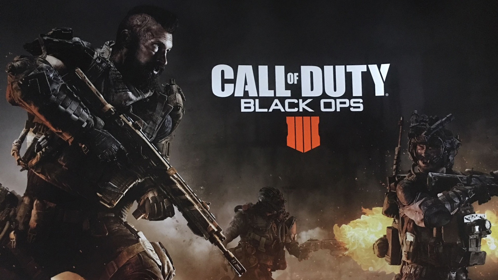 Call of Duty Black Ops 4 2018 wallpaper 1600x900