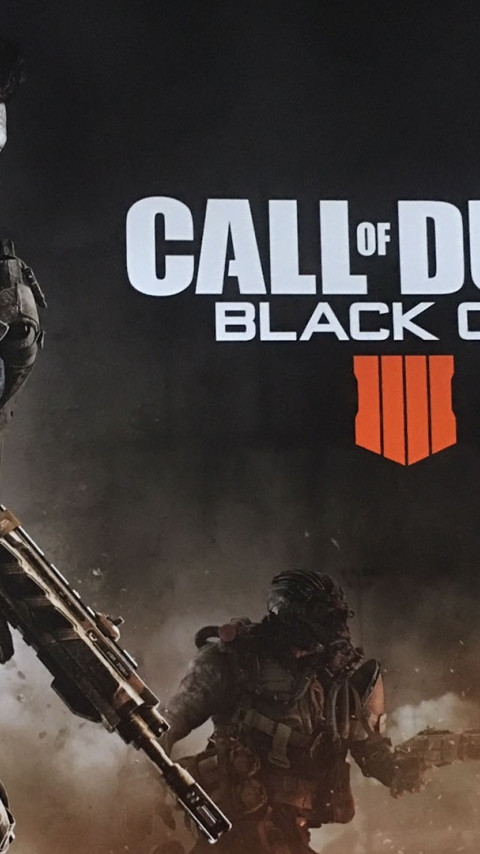 Call of Duty Black Ops 4 2018 wallpaper 480x854