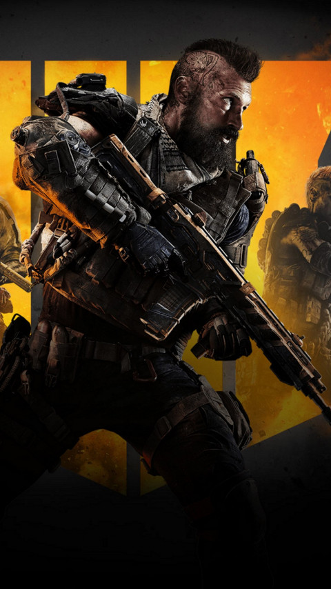 Call of Duty Black Ops 4 | 480x854 wallpaper