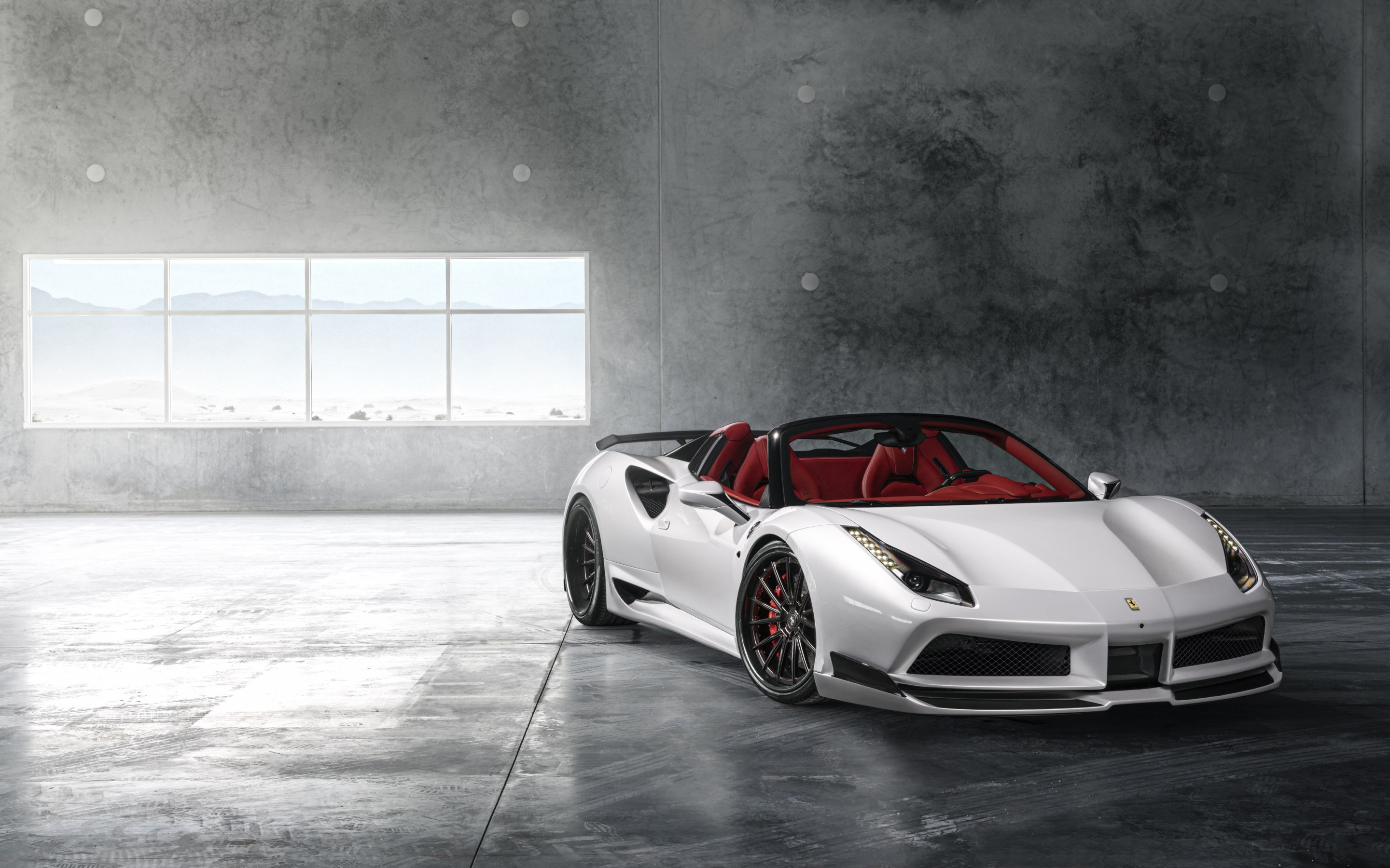 Convertible Ferrari 488 wallpaper 2880x1800