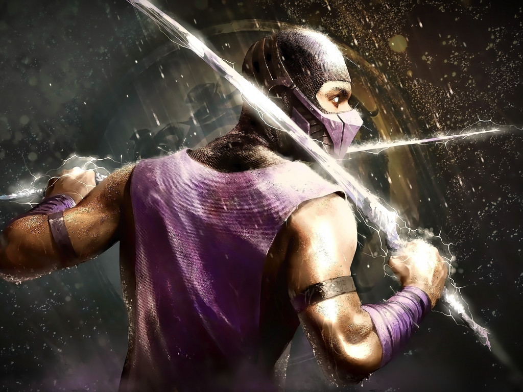 Scorpion from Mortal Kombat wallpaper 1024x768