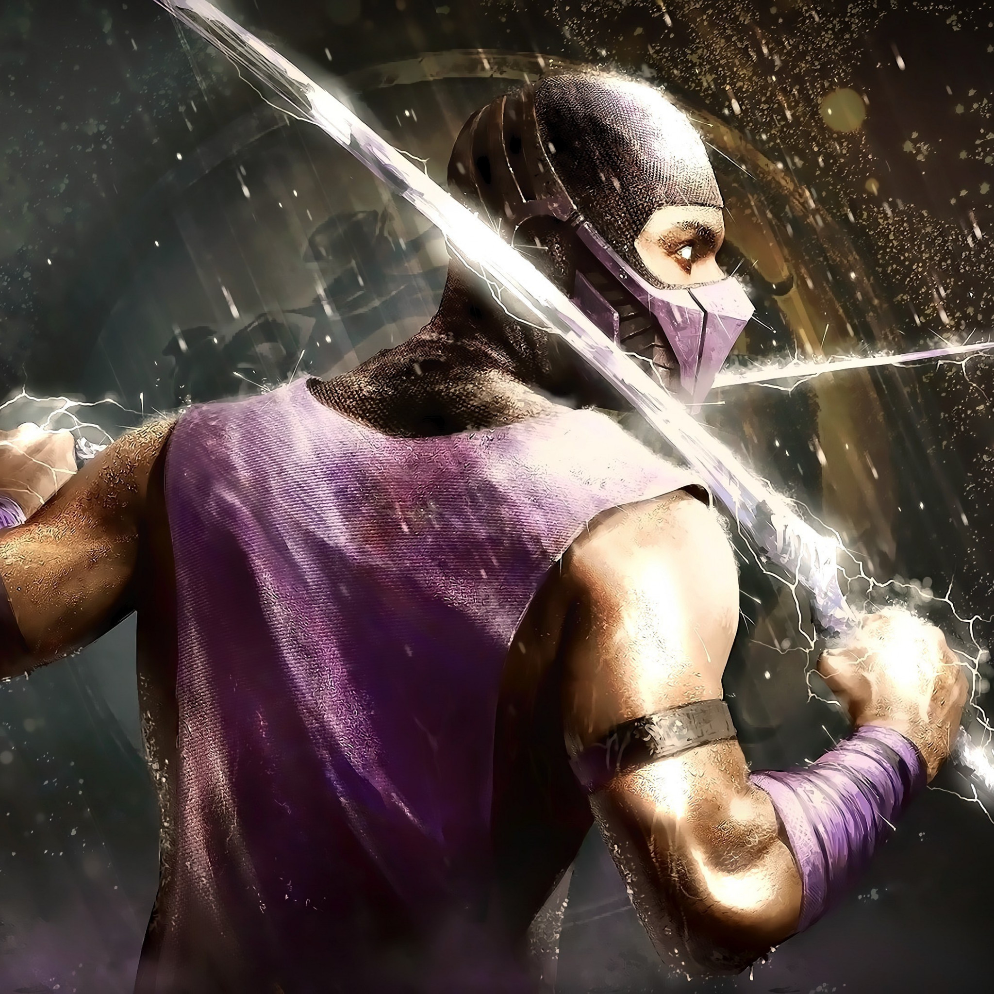 Scorpion from Mortal Kombat | 2048x2048 wallpaper