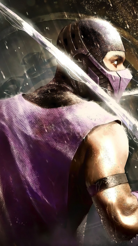 Scorpion from Mortal Kombat wallpaper 480x854