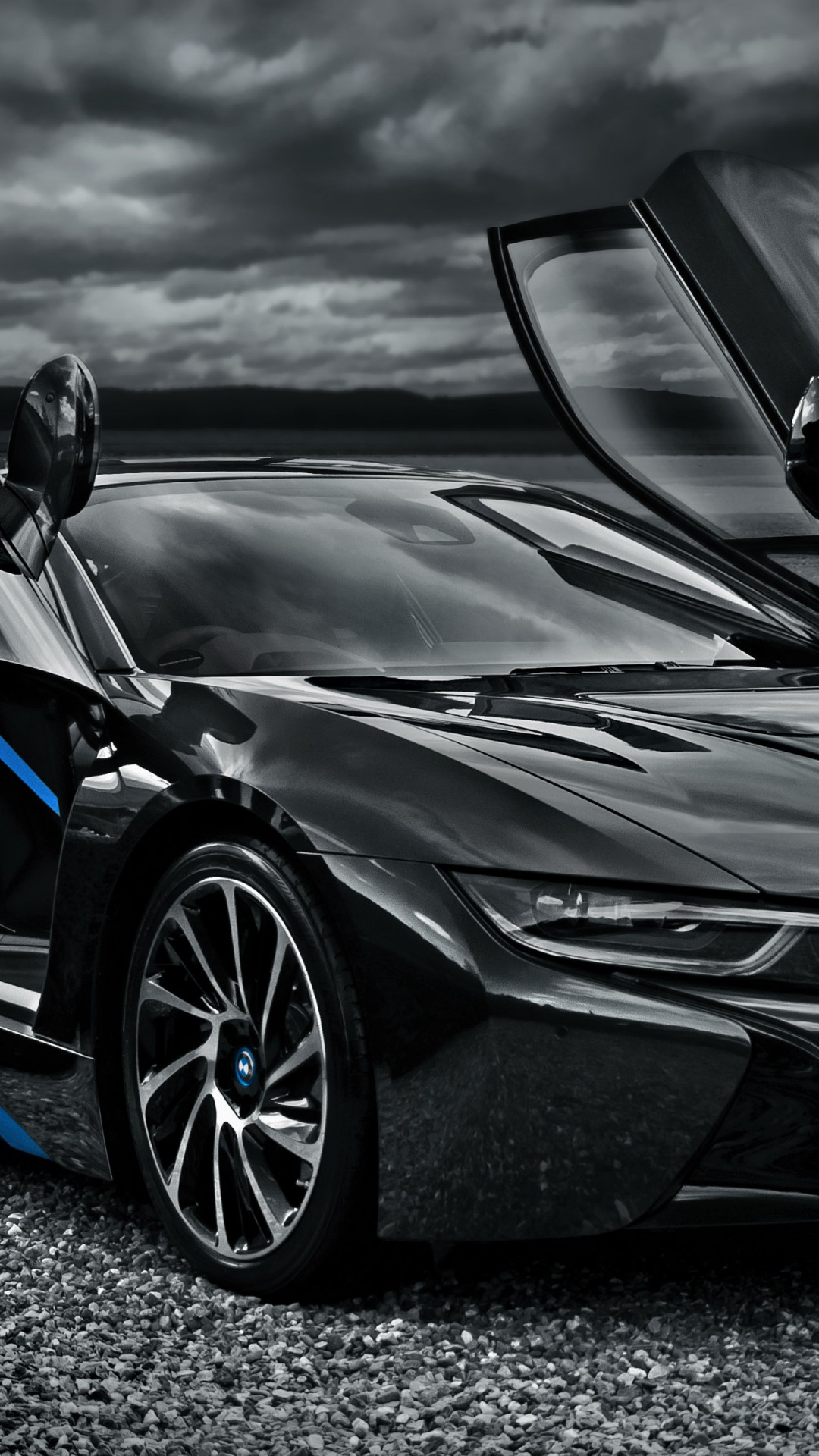 BMW i8 hybrid car wallpaper 1080x1920