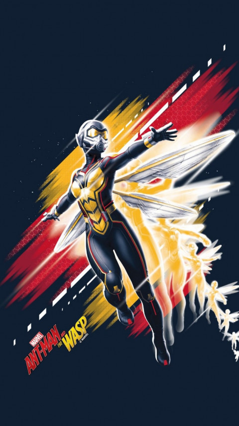 Ant-Man and the Wasp wallpaper 480x854