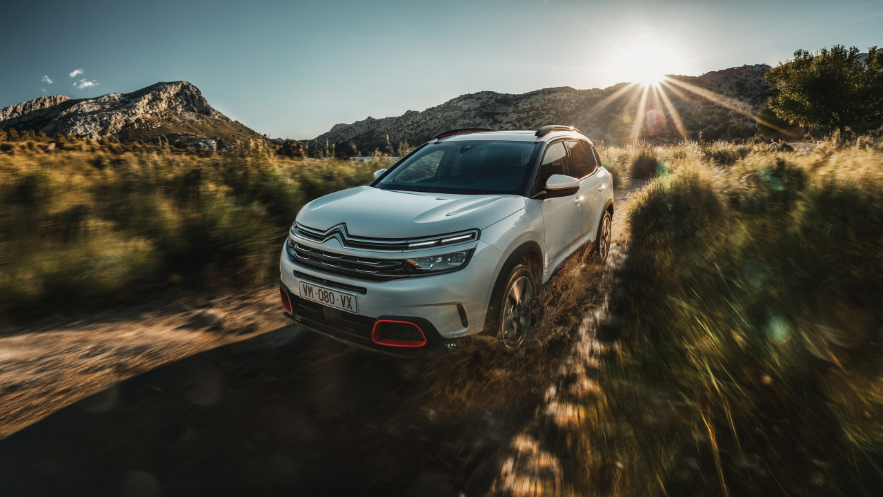 Citroen C5 Aircross wallpaper 1280x720