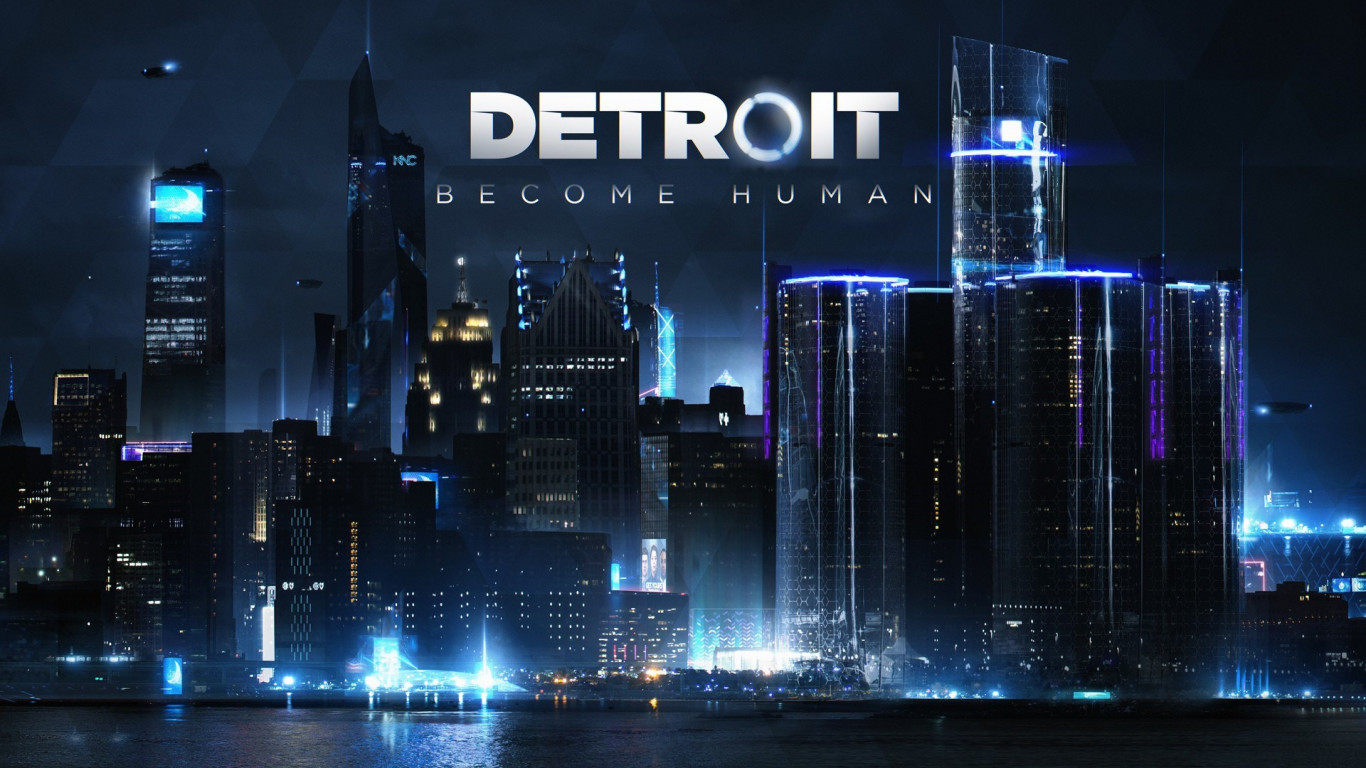 Detroit Become Human wallpaper 1366x768