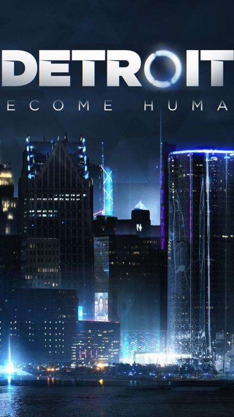 Download Wallpaper Detroit Become Human 480x854