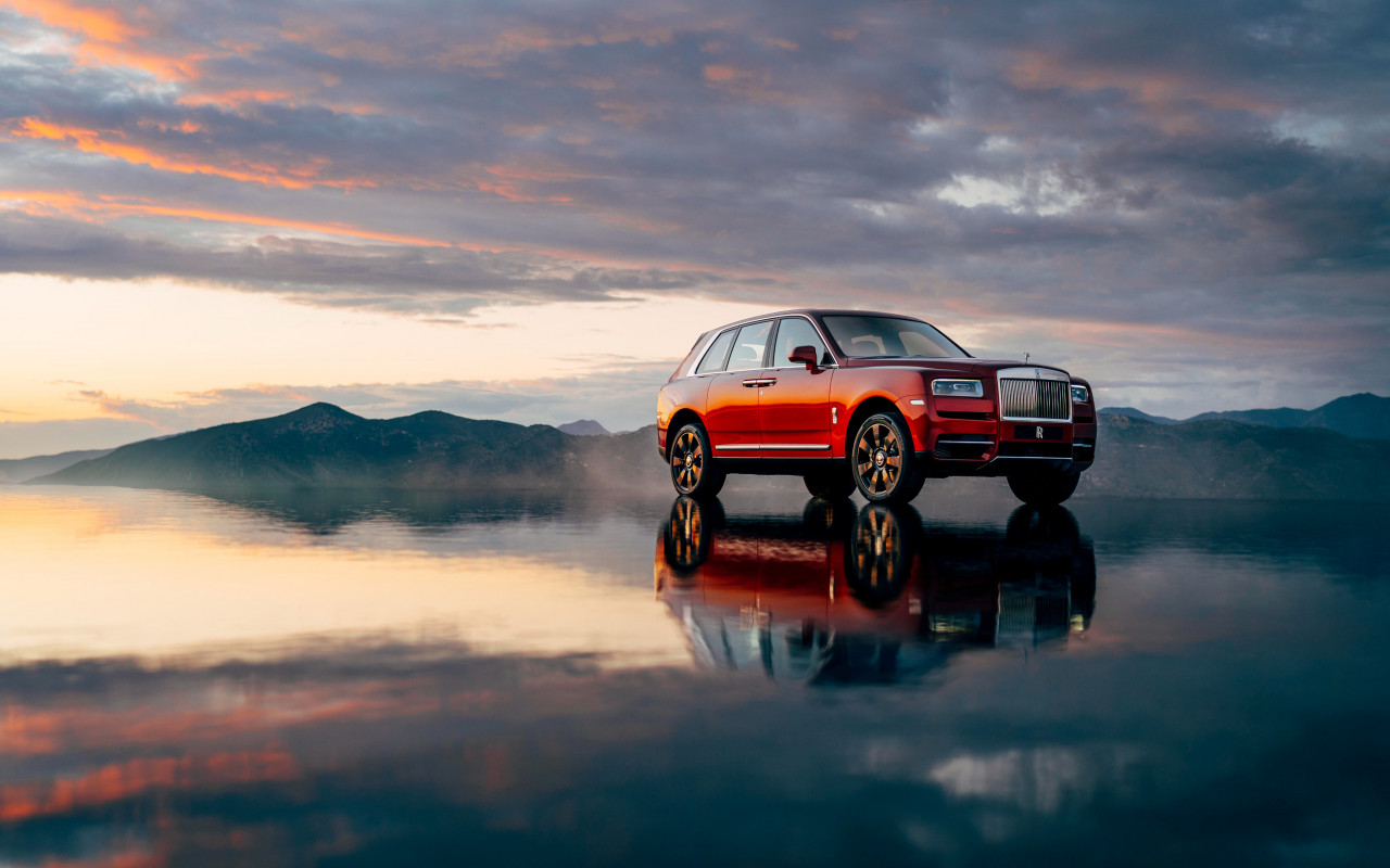Rolls Royce Cullinan wallpaper 1280x800